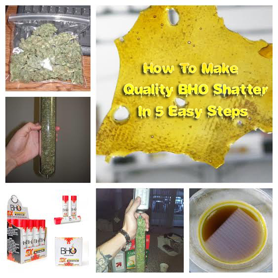 How To Make BHO Shatter
