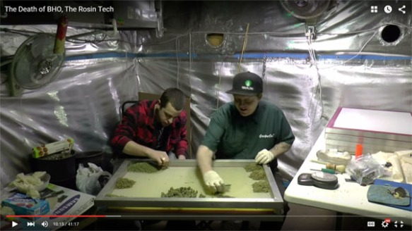 rosin tech video